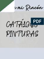 CATÁLOGO PINTURAS