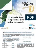 Associação de componentes eletricos em serie e em paralelo