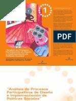 Analisis de procesos participativos