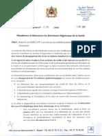 Circulaire conjointe DELM-DP N° 078 - 2020