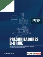 B Drive Presurizador