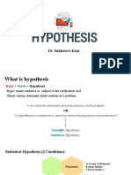 Lesson 3 Hypothesis Testing