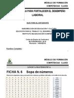 MATERIAL COMPETENCIAS CLAVES LÓGICA 1 C