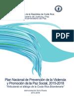 Plan Nacional de Prevencion Articulando el Dialogo