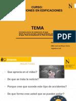 PPT - SEMANA 01- INSTALACIONES EN EDIFICACIONES - UG 2020 2