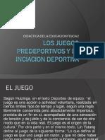 LOS JUEGOS PREDEPORTIVOS Y LA INCIACION DEPORTIVA