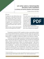 Um olhar sobre a historiografia africana e afro-brasileira