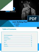 [Fitness]DRPhysique Lean Bulking Plan April 2015