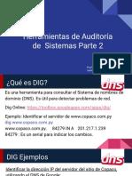 Herramientas de Auditoría de Sistemas