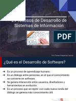 Procesos de Desarrollo de Sistemas de Información