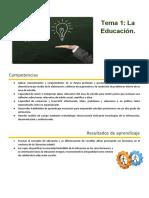 Esquema 2021 Tema 1_ La Educacion -1