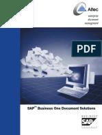 Altec Document Management for SAP B1