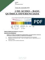 guia ejercicios acido base -Química