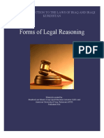 ILEI - Forms of Legal Reasoning - Student