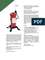 FILTRO CPF 20 and CPF 80 Air Filter