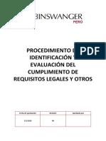 GPYC.P.Crl rocedimiento de Requisitos legales