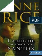 La noche de todos los santos - Anne Rice