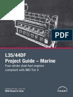 35-44DF IMO Tier II – Marine