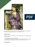 Guía de lectura de _Lesbia mía_..docx