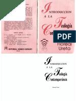 Introducción a la Teología Contemporánea - Floreal Ureta