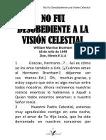 49-0718 NO FUI DESOBEDIENTE A LA VISION CELESTIAL HUB