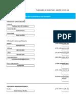 formulario para el simulador