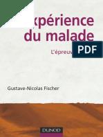FISCHER, Gustave-Nicolas - L'Expérience Du Malade