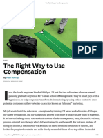 The Right Way to Use Compensation.pdf