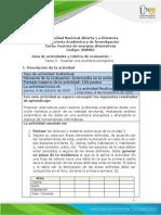 Guía de actividades y Rúbrica de evaluación - Unidad 2 - Tarea 3 - Realizar una Auditoría energética