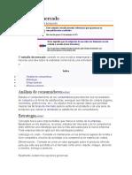 Estudio de Mercado Prueba 2 Taller 5
