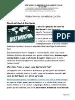 LOS CANALES DE DISTRIBUCIÓN DE COMERCIALIZACION INTERNACIONAL