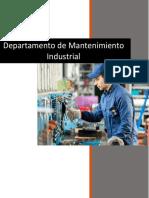 (Investigacion) Departamento de mantenimiento industrial