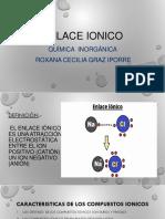 enlace ionico