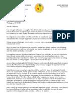 Oct 7 Trump Letter