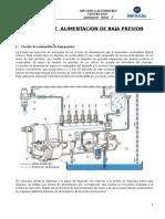 SISTEMA  DE  ALIMENTACION DE BAJA PRESION