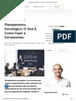 Planejamento Estratégico_ O Que É, Como Fazer e Ferramentas.pdf