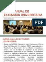 2 CURSO ANUAL DE EXTENSIÓN UNIVERSITARIA