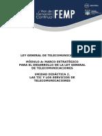 modulo A2 ley de comunicaciones