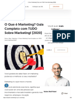O Que é Marketing - Guia com TUDO Sobre Marketing! (2020)