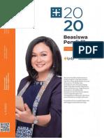 Booklet Beasiswa Pendidik tahun 2020