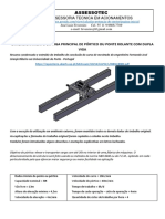 Dimensionamento Da Viga Principal de Ponte Rolante - Dupla Viga