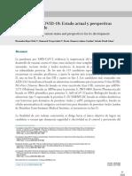 Vacunas para COVID-19 estado actual y perpectivas