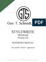 StyleWrite