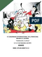 Anais - IV congresso internacional de Literatura Infantil.pdf