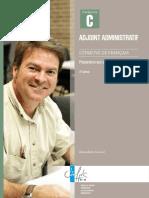 Adjoint Administratif épreuve de Français Concours C.pdf