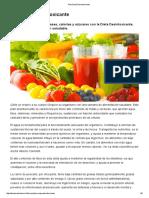 Plan Dieta Desintoxicante - Dr