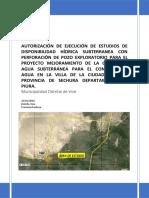 FORMATO 5 ESTUDIO DE DISPONIBILIDAD HIDRICA