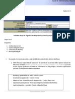 ACTIVIDAD Organización - Documentos de Google