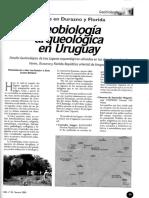 Geobiología arqueológica en Uruguay