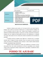 Gestão Hospitalar 5 e 6 Semestre Instituto Dr. Rodrigues<<<PROMOÇÃO>>25,00 REAIS